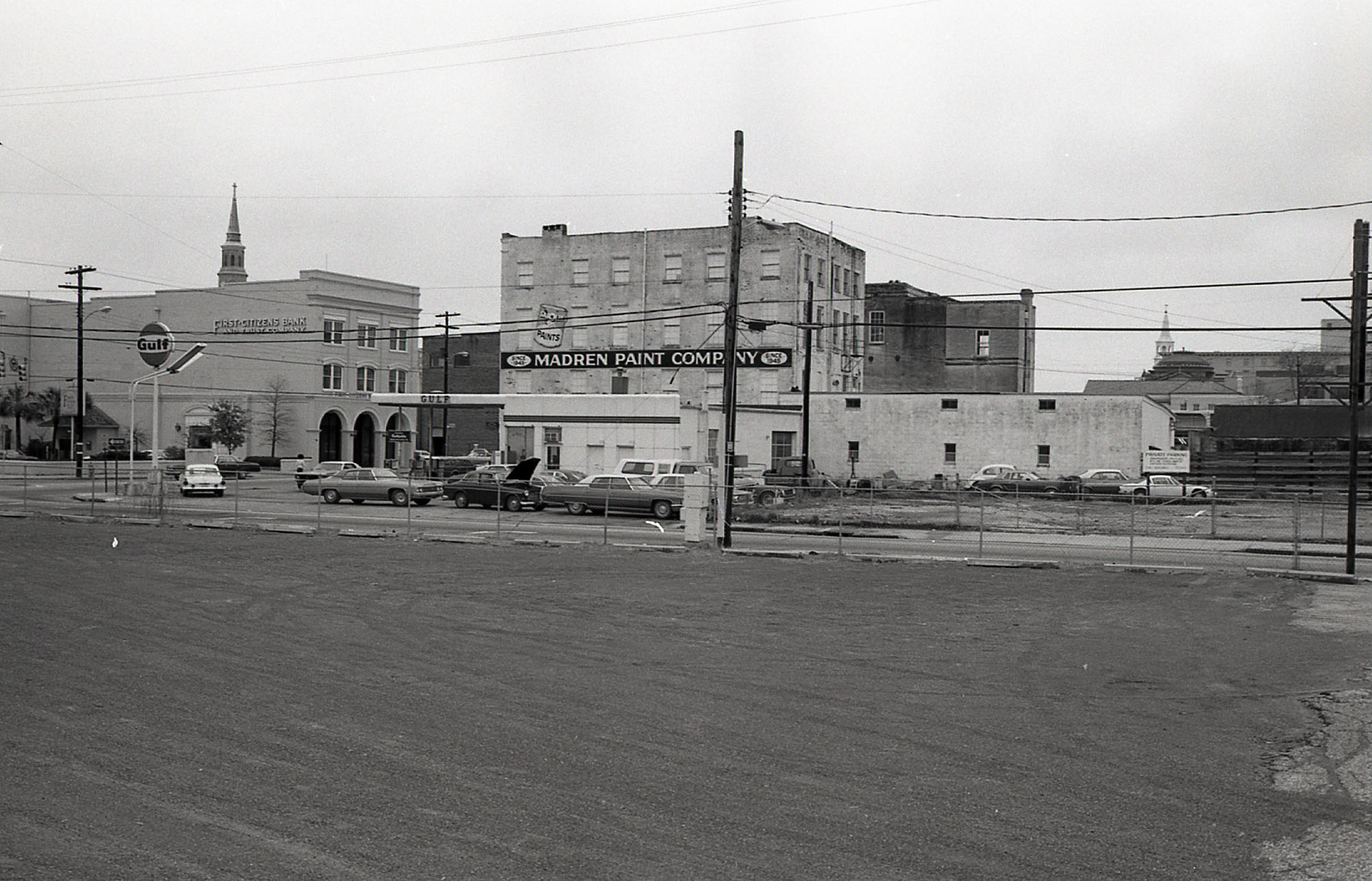 View of South Side of Market at Meeting Street from Belk Lot