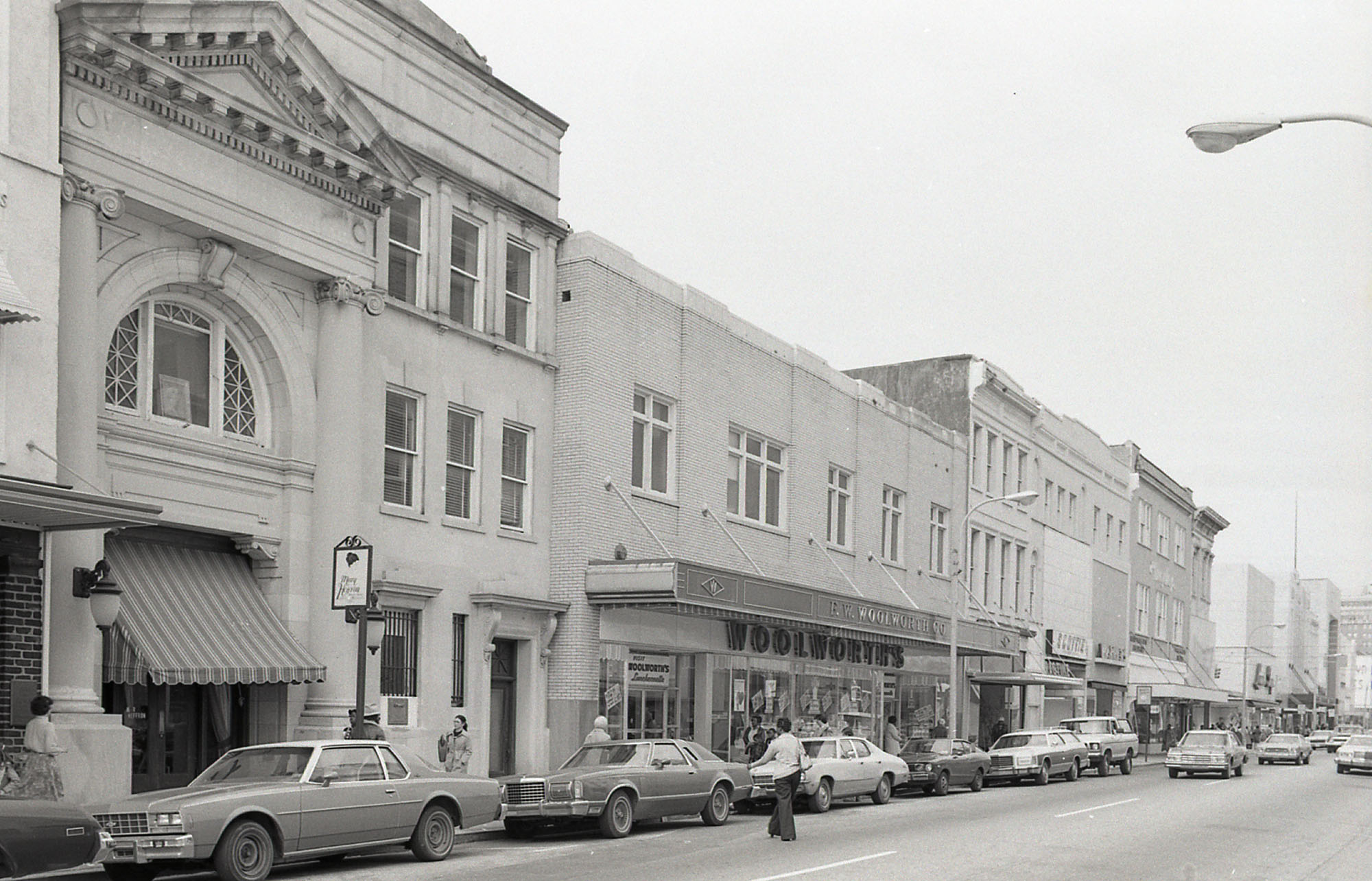 West Side of King Street Above Hasell Street