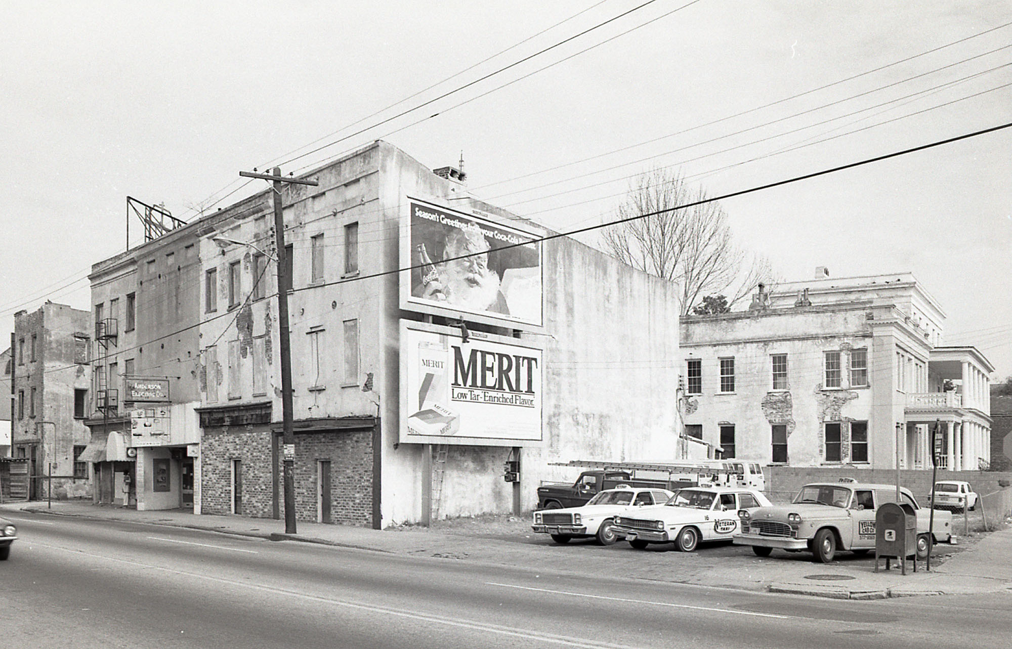 East Side of meeting Street Above Hasell Street