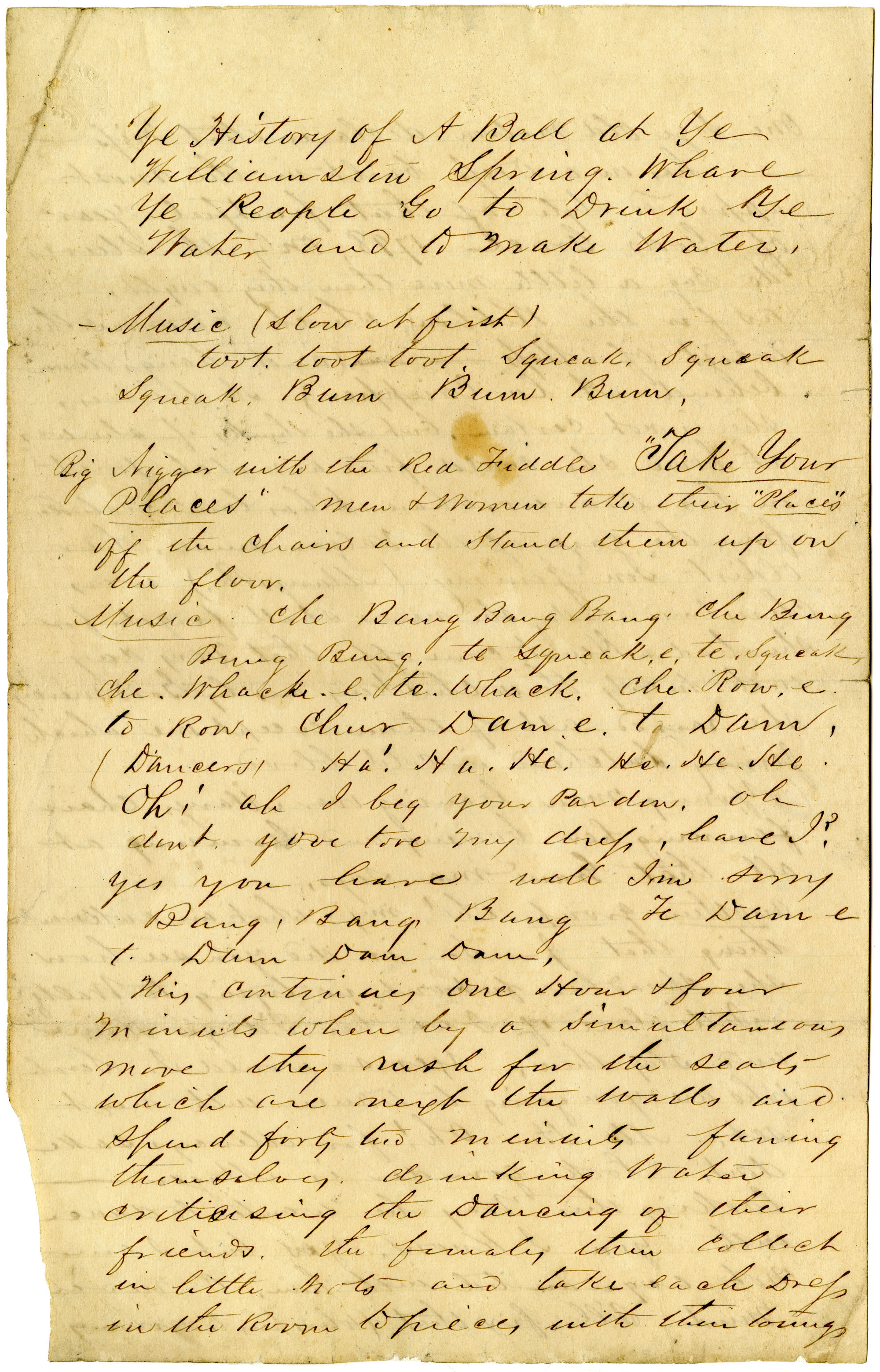 Letter from John R. Beaty to James H. Norman, Part III, August 1860