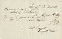 Woman's Association for the Relief of Freedmen receipt