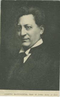 Joseph Barondess, Nasi of Order Sons of Zion