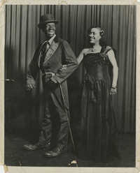 Promotional Image for Theatrical Production featuring a Male Performer in Blackface