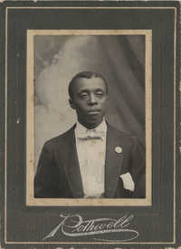 Photo of an Unidentified African American Man