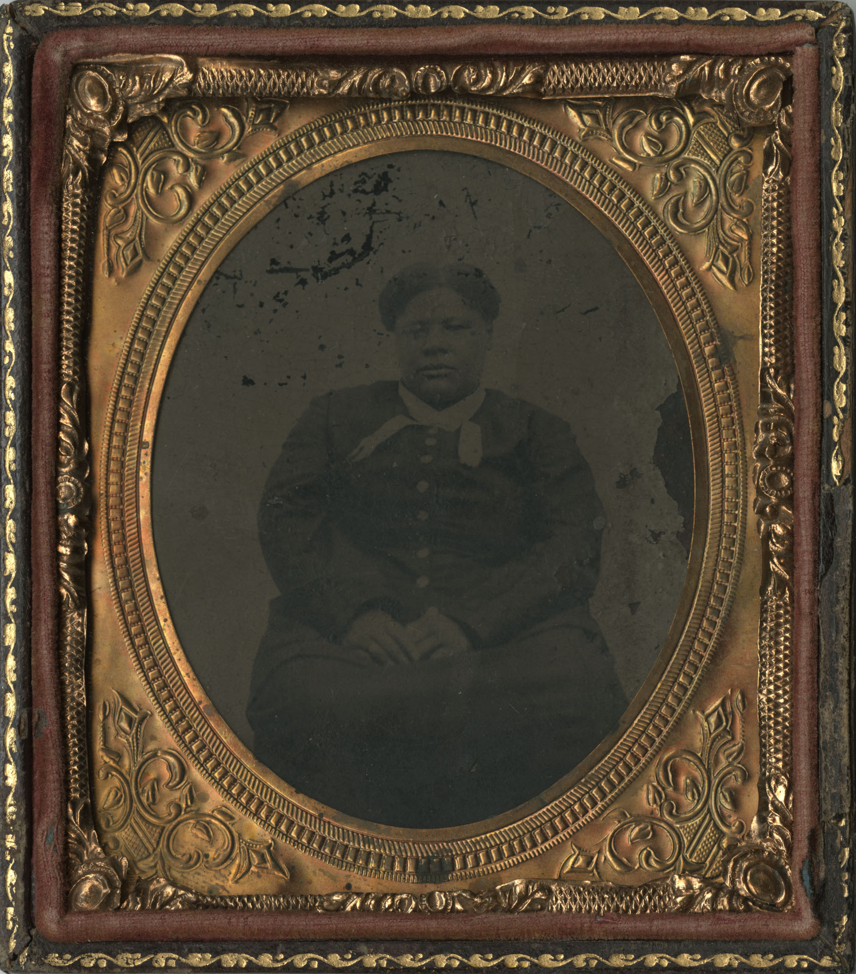 Cased Tintype of an African American Woman