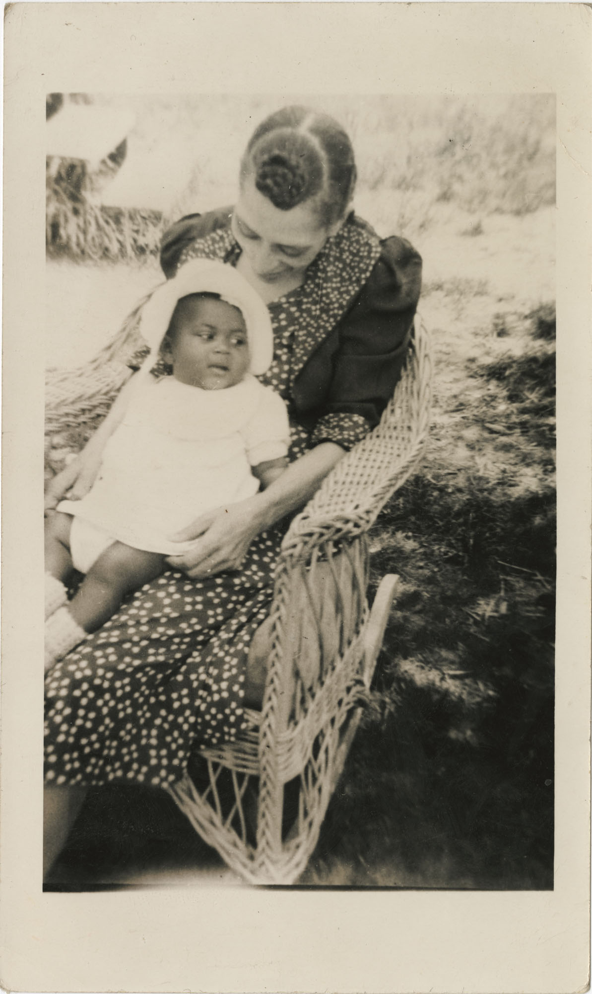 Photo of a Woman with an Infant