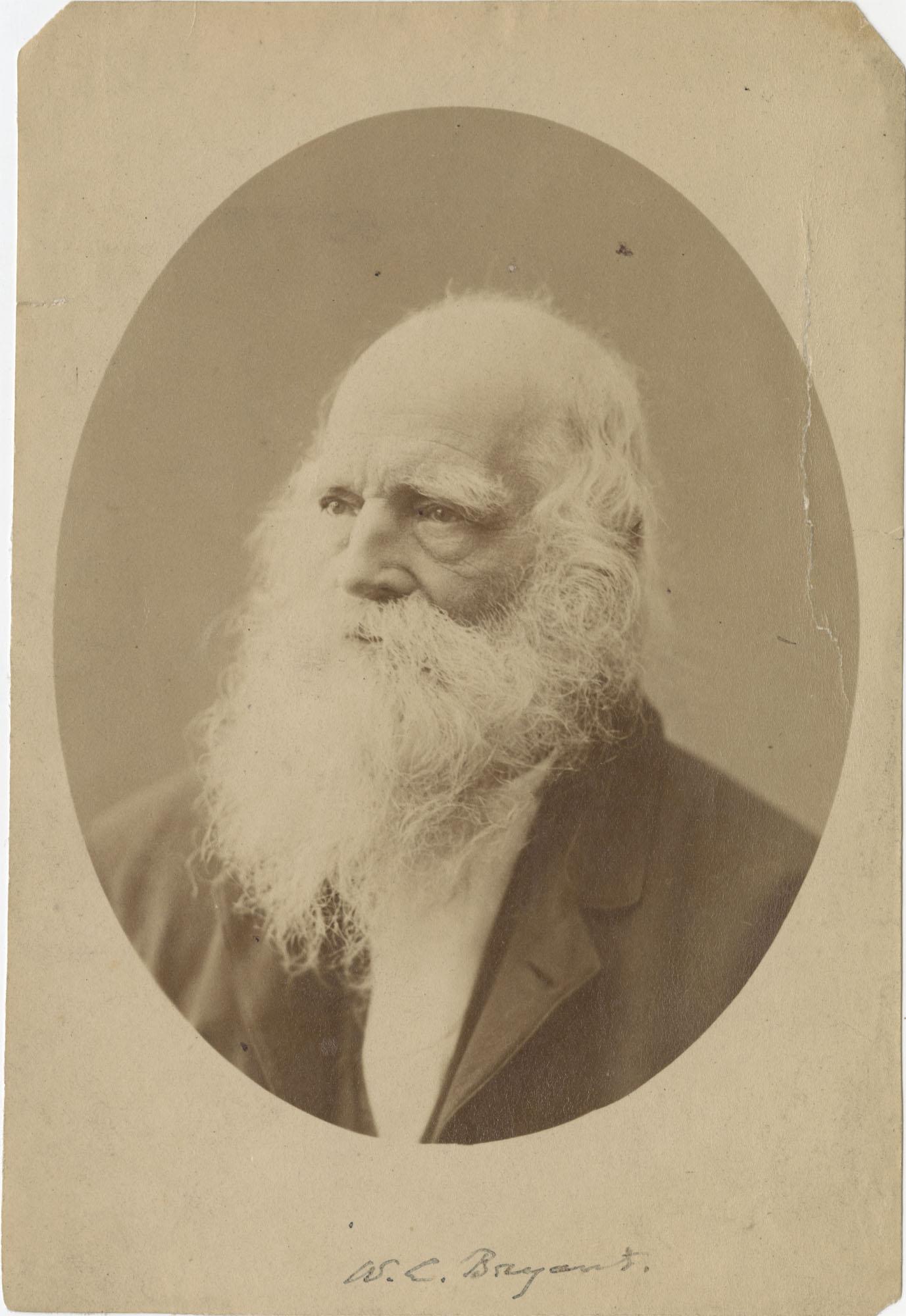 Photo of William Cullen Bryant