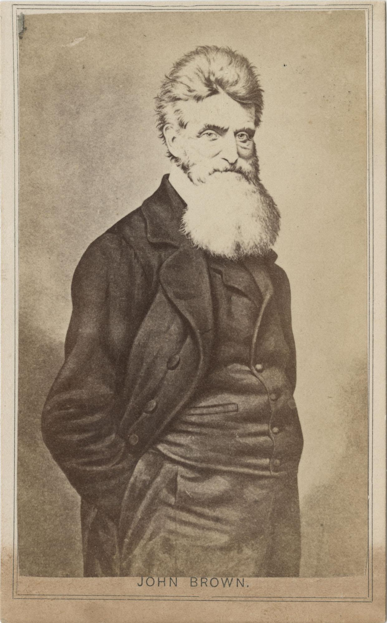 Paper photo of John Brown