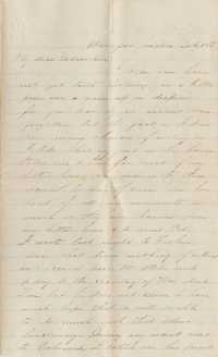 095. Samuel Wragg Ferguson to F.R. Barker (Godmother) -- July 10, 1861