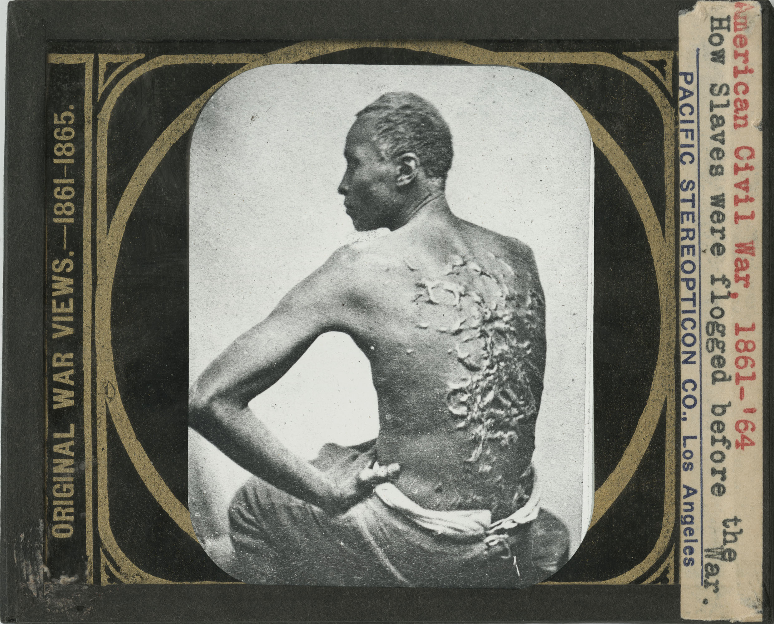Original War Views 1861-1865: How Slaves Were Flogged Before the War