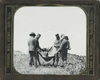 Original War Views 1861-1865: African American Man Rescued