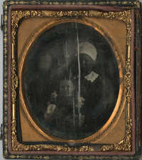Cased Daguerreotype of an Unidentified African American Woman with a Child