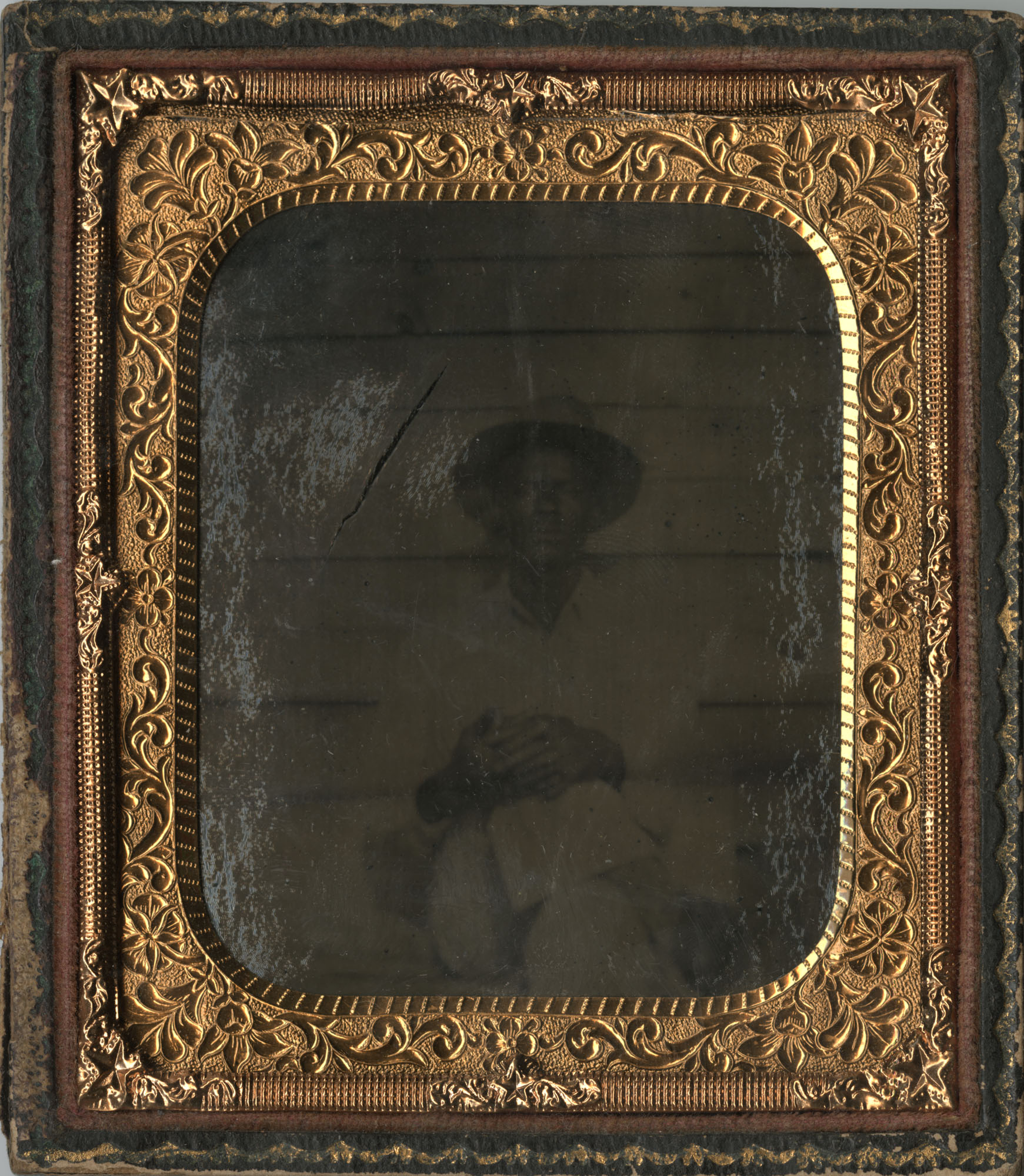 Cased Tintype of an African American Man