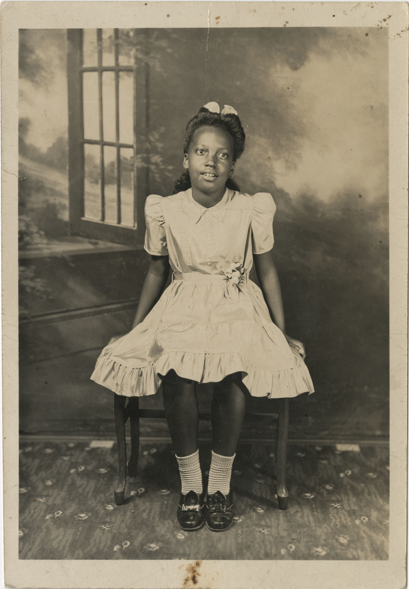 Portrait of an African American Girl