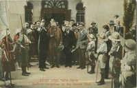 Balfour reception at the Zionist Club / פגישת בלפור בקלוב הציונים