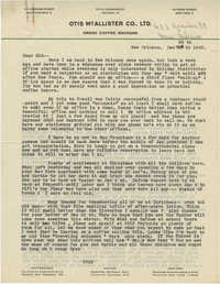 Letter from Armant Legendre, December 28, 1945