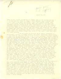 Letter from Gertrude Sanford Legendre, April 23, 1943