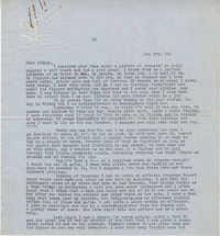 Letter from Gertrude Sanford Legendre, December 17, 1943