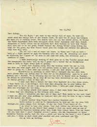 Letter from Gertrude Sanford Legendre, December 11, 1942