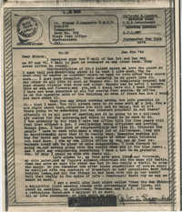 Letter from Gertrude Sanford Legendre, January 6, 1944