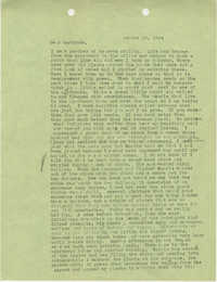 Letter from Sidney Jennings Legendre, August 14, 1944