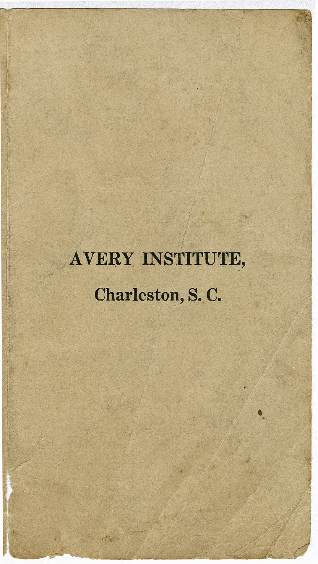 Article on Missionary John H. Clifford's Avery Visist