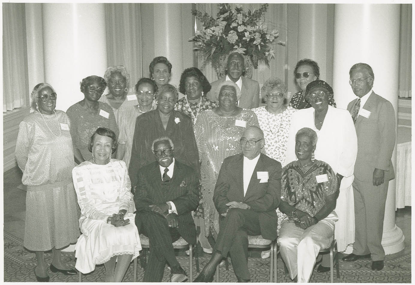 Avery Normal Institute Class of 1940 Fiftieth Anniversary Picture