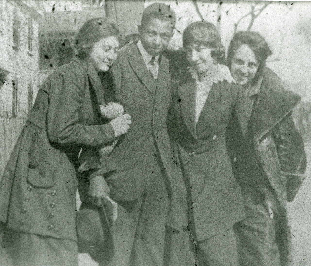Four Averyites Posing