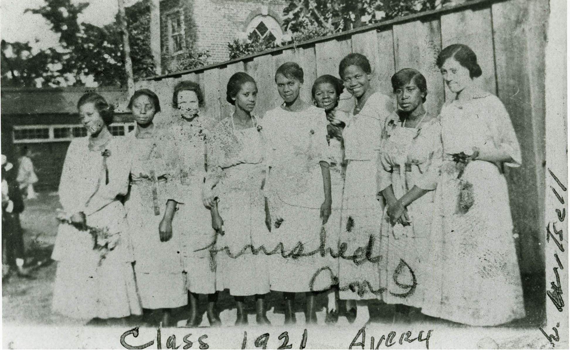Group of Female Avery Institute Students