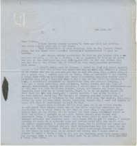 Letter from Gertrude Sanford Legendre, February 19, 1943