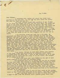 Letter from Gertrude Sanford Legendre, August 7, 1944