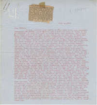 Letter from Gertrude Sanford Legendre, July 12, 1944