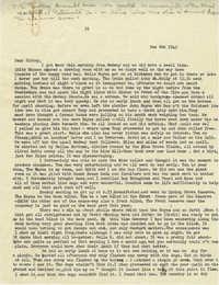 Letter from Gertrude Sanford Legendre, December 8, 1942
