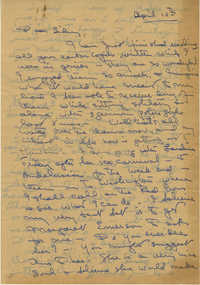 Letter from Gertrude Sanford Legendre, April 10, 1945