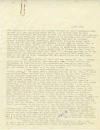 Undated Letter 3 from Gertrude Sanford Legendre