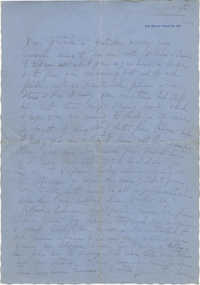 Letter from Jane Sanford Pansa, August 4, 1944