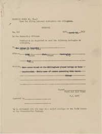 Letter from Sidney Jennings Legendre, April 12, 1943