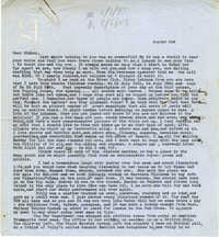 Letter from Gertrude Sanford Legendre, August 2, 1943