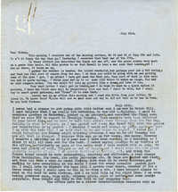 Letter 1 from Gertrude Sanford Legendre, July 23, 1943