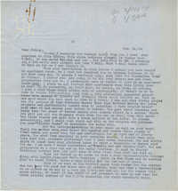 Letter from Gertrude Sanford Legendre, February 14, 1944