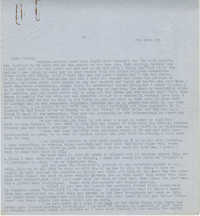 Letter from Gertrude Sanford Legendre, February 13, 1943