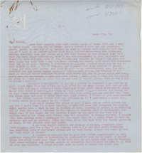 Letter from Gertrude Sanford Legendre, March 17, 1943