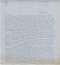 Letter from Gertrude Sanford Legendre, March 16, 1943