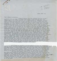 Letter from Gertrude Sanford Legendre, March 16, 1944