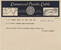Letter 1 from Gertrude Sanford Legendre, September 16, 1943