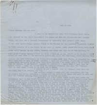 Letter from Gertrude Sanford Legendre, February 23, 1943