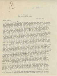 Letter from Gertrude Sanford Legendre, December 4, 1942