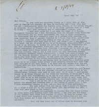 Letter from Gertrude Sanford Legendre, March 28, 1944