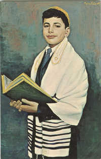 The Bar Mitzvah Boy