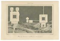 Plan des Tombeaux d'Absalon et de Zacharie